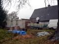 Stav před stavbou střechy