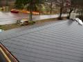 Pohled na střechu zhora