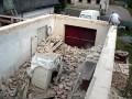 Začištění stěn před betonováním věnce